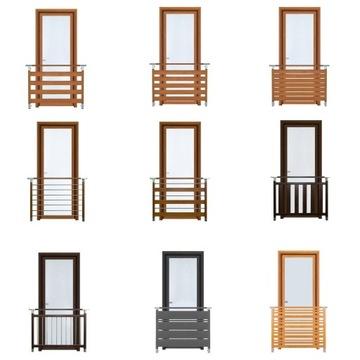 Французские современные оконные перила на балконе FELLO.