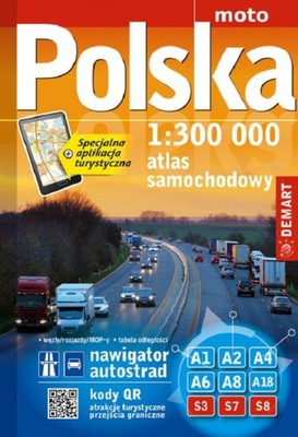 Atlas Polska 1:300 000