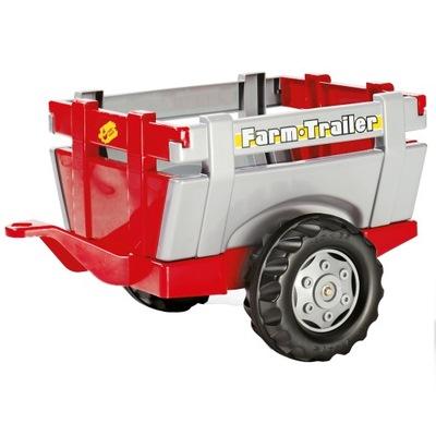 ROLLY TOYS Otwierana przyczepa do Traktora Burty