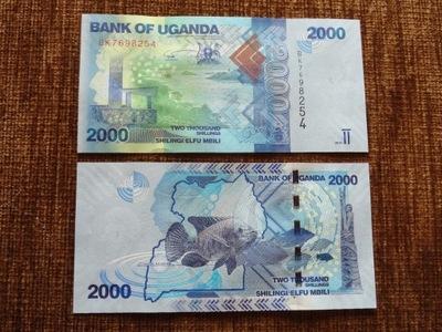 245.UGANDA 2000 SCHILINGÓW UNC