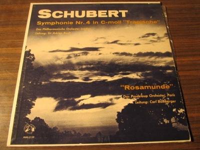 SCHUBERT: SYMPHONIE 4 / BAMBERGER .J6