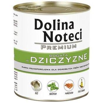 DOLINA NOTECI Premium KARMA D/PSA 800g DZICZYZNA