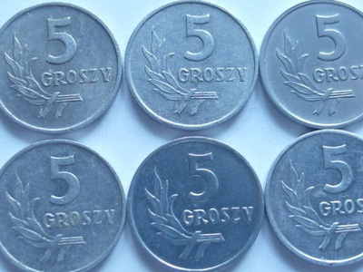 Монета 5 gr 1967 году хороший