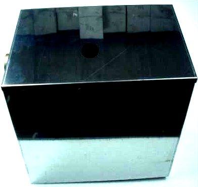 Otvorené nádoby z nehrdzavejúcej ocele 15 L s ventilom 052