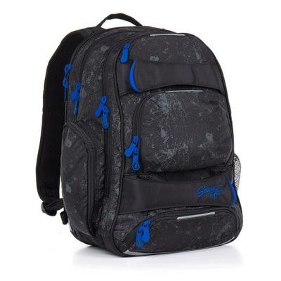 Školské tašky - tri-priestoru batoh mládež topgal hit 882