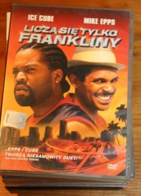 LICZĄ SIE TYLKO FRANKLINY     DVD