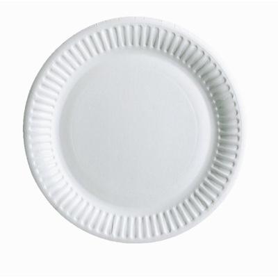 Посуда одноразовые Тарелки Бумажные 18 см 100шт