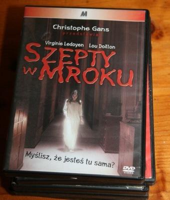 SZEPTY W MROKU   DVD