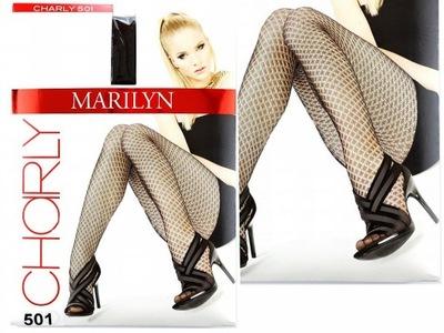 Rajstopy Charly 501 *1/2 *NERO / Marilyn Promocja
