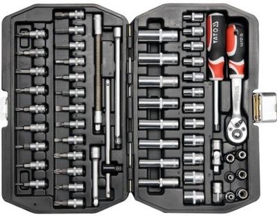 Yato набор ключей ТОРЦЕВЫХ 1 /4 56elem YT-14501