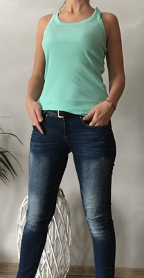 BERSHKA spodnie jeansowe M