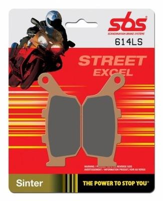 SBS KLOCKI 614LS BUELL XB9R/XB9S 02-10 tył