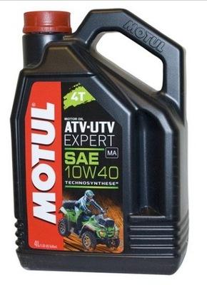 OLEJ MOTUL ATV EXPERT 10W40 4T SYNTETYK 4L