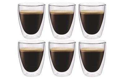 Double-layer Kávu, poháre, káva Hrniec s dvojitým steny 6pcs