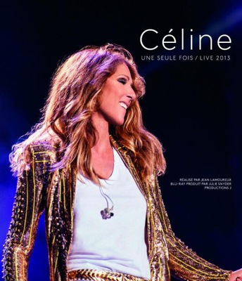 CELINE DION Une Seule Fois LIVE DVD+2CD