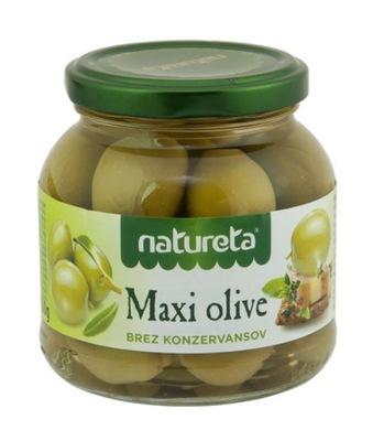 [КС] Оливки зеленые Макси , греческое 290г Natureta