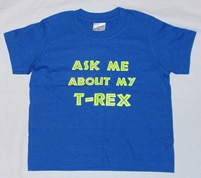 Koszulka T-shirt Ask me - śmieszna rozm 110-116.
