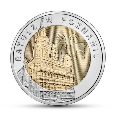 Монета 5  Ратуша в Познани