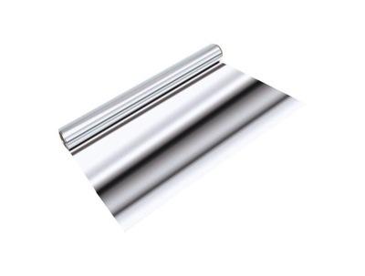 Hladké hliníkovej fólie 0,05 mm x 1000mm (25 m2)