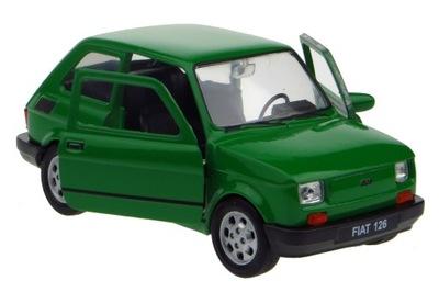 Fiat 126 P МОДЕЛЬ металлический Welly 1 :34 зеленый