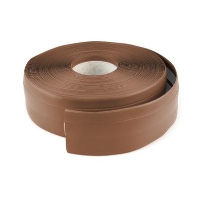 Lišta Gumová 50mm HNEDÉ 25 MB