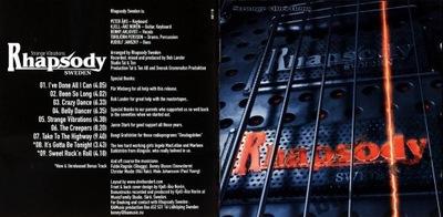 RHAPSODY SWEDEN/Angel - Strange Vibrations (1978)
