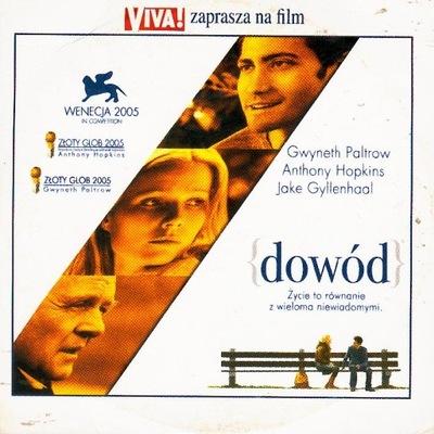 DVD DOWÓD   Okazja!