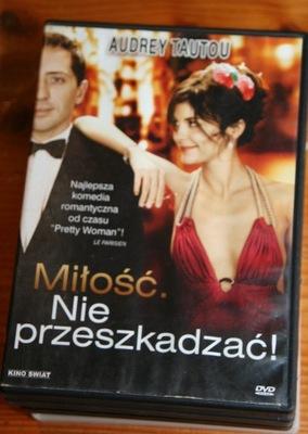 MIŁOŚĆ NIE PRZESZKADZAĆ !    DVD