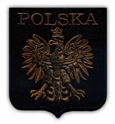 d571e9ae9 Godło Polski NASZYWKA POLSKA orzeł w kole /jakość/ - 1764141888 ...