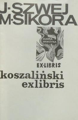 КОШАЛИНСКИЙ EX LIBRIS Синица Кошалин exlibris