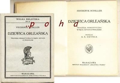 Dziewica Orleańska 1925 Fryderyk Schiller BP