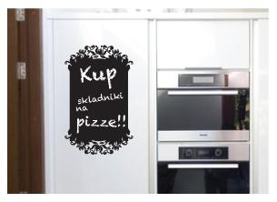 Nástenná samolepka - Kuchyňa / nástenná nálepka - kriedovo-dekoratívne písanie