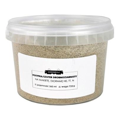Песок /szuter мелкозернистый на макет H0 TT N