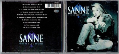 CD SANNE - WHERE BLUE BEGINS
