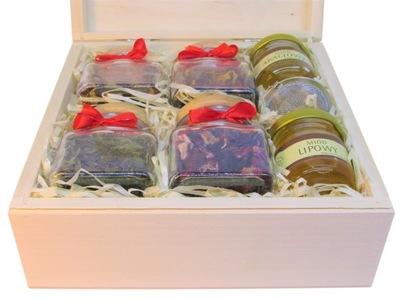 БОЛЬШОЙ комплект с подарками чай Мед заварка  !