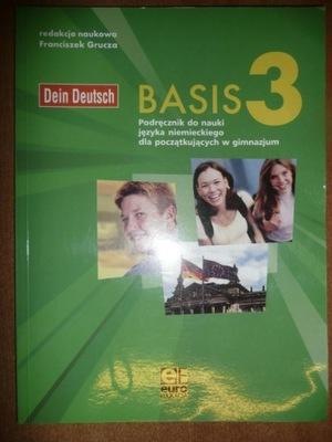 Dein Deutsch Basis 3 Podręcznik Grucza