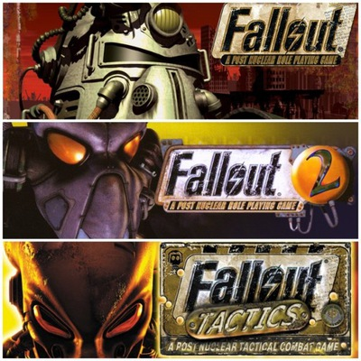 FALLOUT CLASSIC COLLECTION 1+2+Tactics Steam Klucz