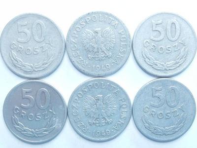 Монета 50 gr 1949 году хороший