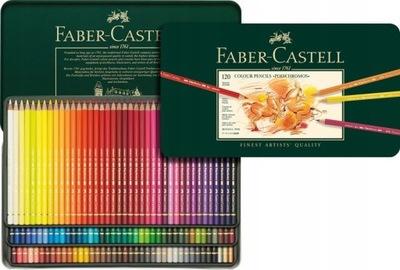 -CASTELL цветные Карандаши Polychromos 120 ?? металлические
