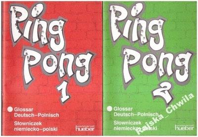 Pingpong 1 i 2 Glossar Słowniczek niemiecko-polski