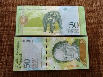 011.WENEZUELA 50 BOLIWAR UNC