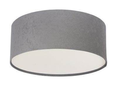 Moderné Stropné svietidlo Luna Grafit sivá 40 cm