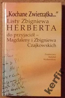 KOCHANE ZWIERZĄTKA Listy Herberta do Czajkowskich