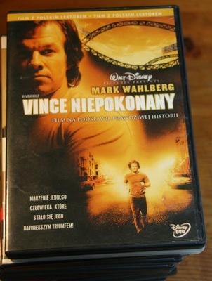 VINCE NIEPOKONANY    DVD