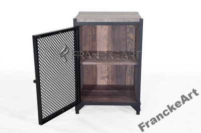 Szafka stolik nocny Loft industrialna Producent