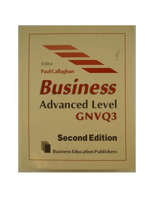 Business advanced level GNVQ3 - Callaghan KRAKÓW