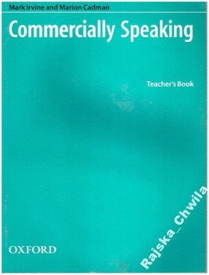 Commercially Speaking Teacher's Book NOWA angielsk