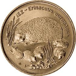 Moneta 2 zł Jeż
