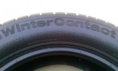CONTINENTAL 195 65 15 CONTI WINTER CONTACT TS 790