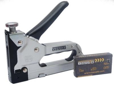 Sponkovačka, nastreľovačka - profesionálna čalúnnica zošívačka BESSTO 4mm-14mm